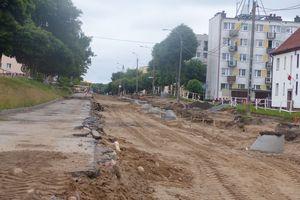 W Bartoszycach trwa budowa mostu i przebudowa ulicy Poniatowskiego [ZOBACZ ZDJĘCIA]