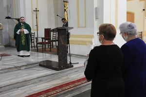 Parafianie pożegnali wikarego, ks. Marka