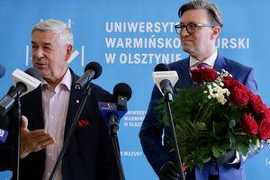 UWM żegna rektora Góreckiego i wita rektora Przyborowskiego