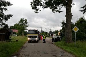 Wypadek w Urowie, zginął rowerzysta