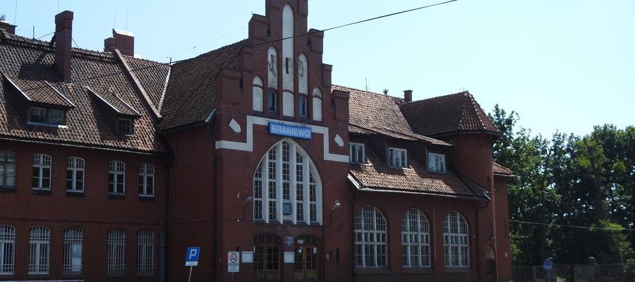 Dworzec w Braniewie