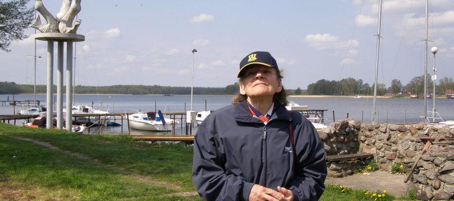 Kapitan Krystyna Chojnowska-Liskiewicz jest częstym gościem w Ostródzie