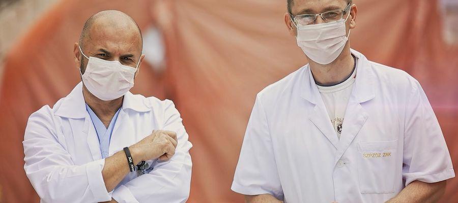 Personel medyczny ostrołęckiego szpitala