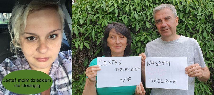 """Krzysztof Kacprowicz i jego żona, podobnie jak inni rodzice i bliscy osób LGBT, wzięli udział w akcji stowarzyszenia """"My, Rodzice"""""""