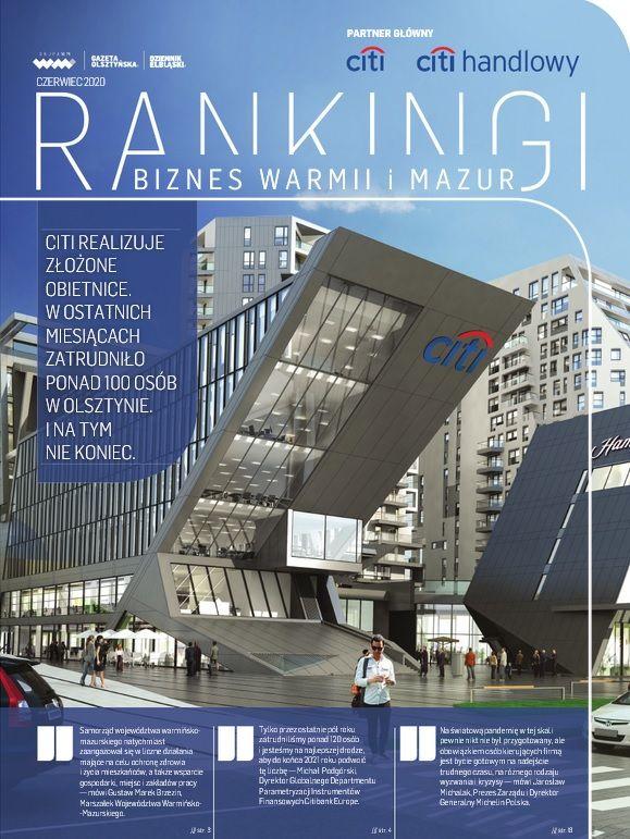 Biznes Warmii i Mazur - RANKINGI 2020