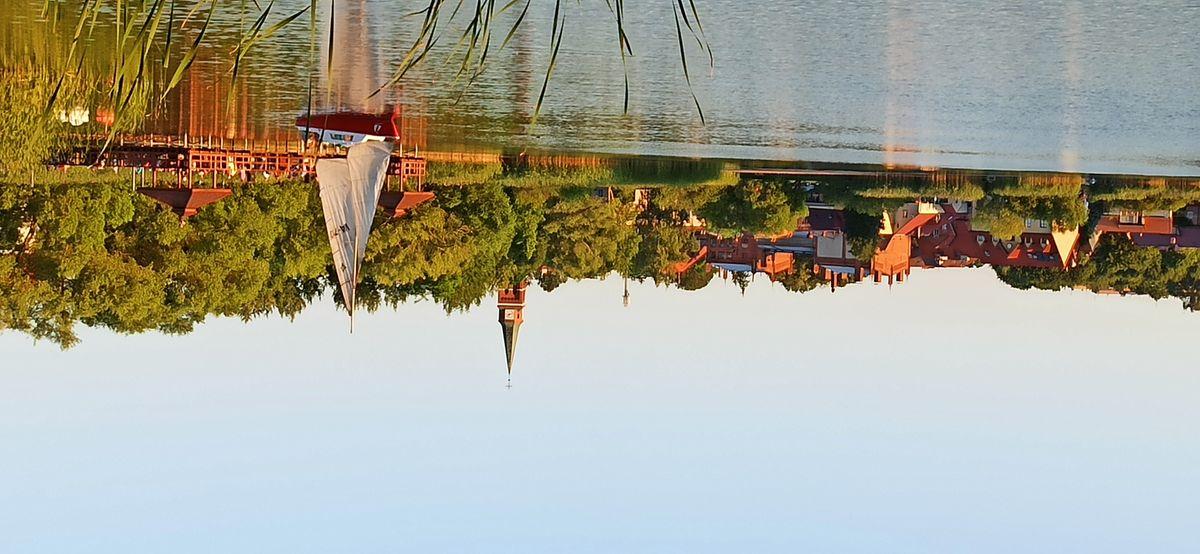 Jezioro Domowe Duże w Szczytnie