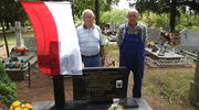 Żołnierz Legionów spoczywa pod biało-czerwoną flagą na cmentarzu w Lipicy