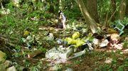 """Dwie przyczepy śmieci, ponad dwie tony eternitu - to tylko część tego, co ostatnio znaleziono w lesie. Ministerstwo mówi """"dość"""" i chce wyższych kar [VIDEO]"""