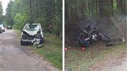 Wypadek w miejscowości Ponikiew Wielka