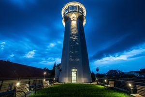 Nowa wieża ciśnień w Olsztynku już otwarta