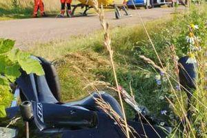Zginął motocyklista i kierowca ciągnika
