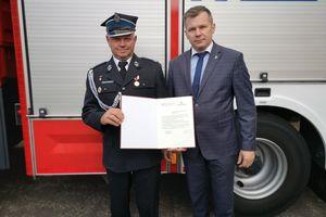 Nowy wóz dla druhów z Ochotniczej Straży Pożarnej w Grodzicznie