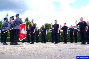 6 policjantek i 17 policjantów rozpoczęło służbę w policji