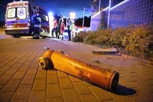 Kierowca uciekł z miejsca zderzenia dwóch aut w Olsztynie [ZDJĘCIA, AKTUALIZACJA]