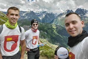 Adrian Socha, strażak z Węgorzewa, zdobył Mont Blanc w szczytnym celu. Nam mówi: