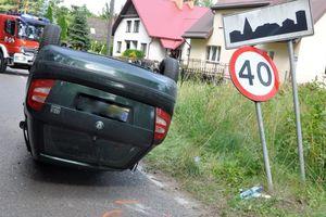 Dwie osoby ranne w wypadku pod Wejsunami