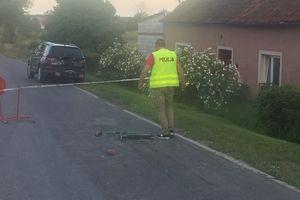 Auto potrąciło 7-latka jadącego na hulajnodze