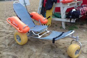 Olsztyńskie kąpieliska dostosowane do potrzeb niepełnosprawnych. Sprawdź, gdzie znajdziesz specjalne pojazdy [ZDJĘCIA]