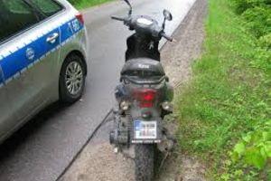 Obywatelskie ujęcie nietrzeźwego motorowerzysty