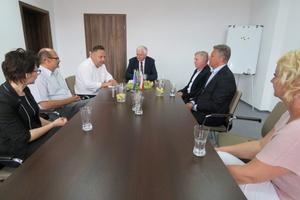 Były wicepremier, wicewojewoda i wójt gminy Ełk rozmawiali o wzmocnieniu ełckiej delegatury Urzędu Wojewódzkiego