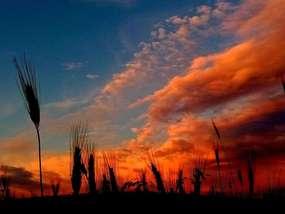 Zachód słońca w Kandytach.
