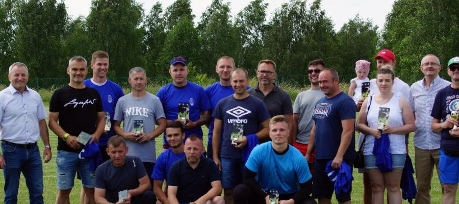 Podczas 25. turnieju o puchar burmistrza Pasymia ogłoszono jedenastkę 25-lecia Błękitnych