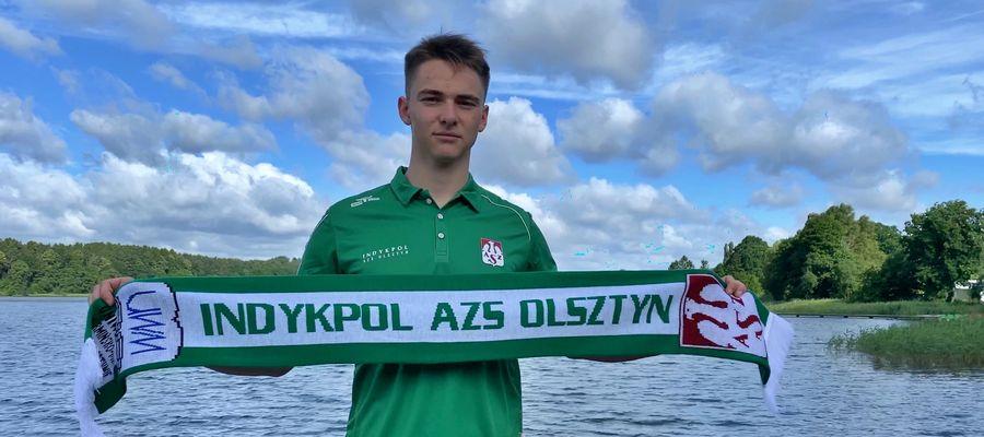 Jakub Czerwiński, nowy przyjmujący Indykpolu AZS Olsztyn
