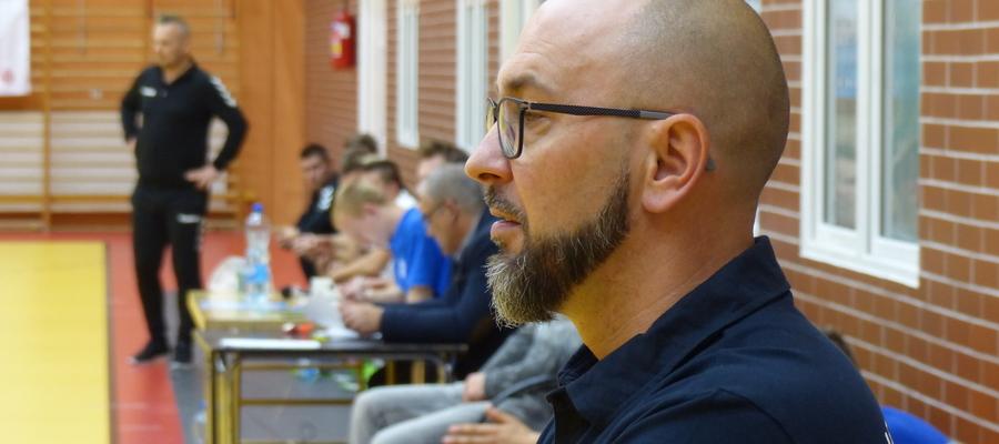 Karol Adamowicz nie jest już trenerem szczypiornistów Jezioraka Iława
