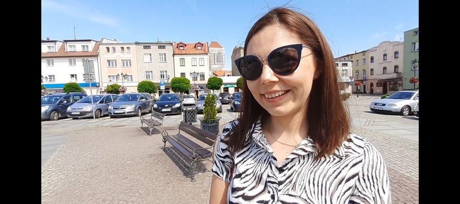Panią Anię spotkaliśmy na lubawskim Rynku