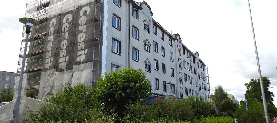Rozpoczął się remont trzech budynków przy ulicy 21 Stycznia w Ostródzie