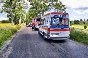 Postawa strażaków z Kętrzyna i Mrągowa godna naśladowania
