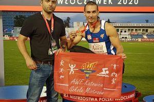 Karol Zalewski ze złotym medalem Mistrzostw Polski