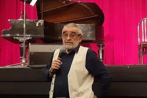 Janusz Olszewski czytał swoje wiersze