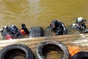 Akcja oczyszczania dna jeziora Jeziorak oraz jeziora Witoszewskiego [foto]