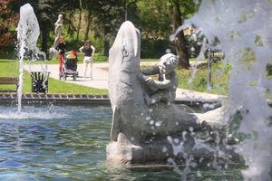 Olsztyńskie fontanny: złotówki, bakterie salmonelli i inne skarby