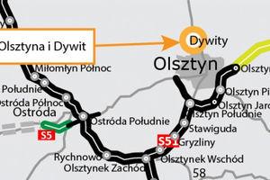 Drogowcy zrobili drugie podejście do północnej obwodnicy Olsztyna