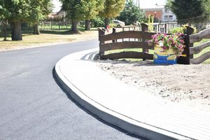 GMINA GRODZICZNO    Kolejna droga wyremontowana z asfaltową nawierzchnią