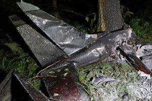 Pod Olsztynem rozbił się samolot. Nie żyją dwie osoby
