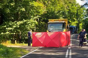 Śmiertelny wypadek na DK 58. 32-letni motocyklista zginął na miejscu