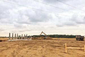 Budowa dużego obiektu energetycznego w Fitowie