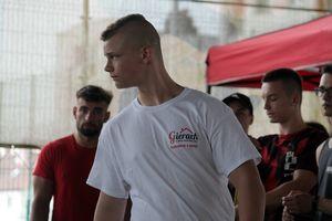 Zamość szczęśliwy dla Kacpra. Zawodnik Siły Bartoszyce z medalem mistrzostw Polski LZS