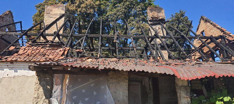 W wyniku pożaru rodzina Bielskich straciła dach nad głową