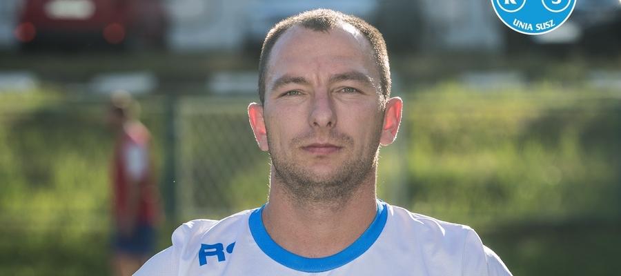 Krystian Staniec z Unii Susz w poprzedniej kolejce zdobył aż 11 goli w meczu z GKS-em Stawiguda!