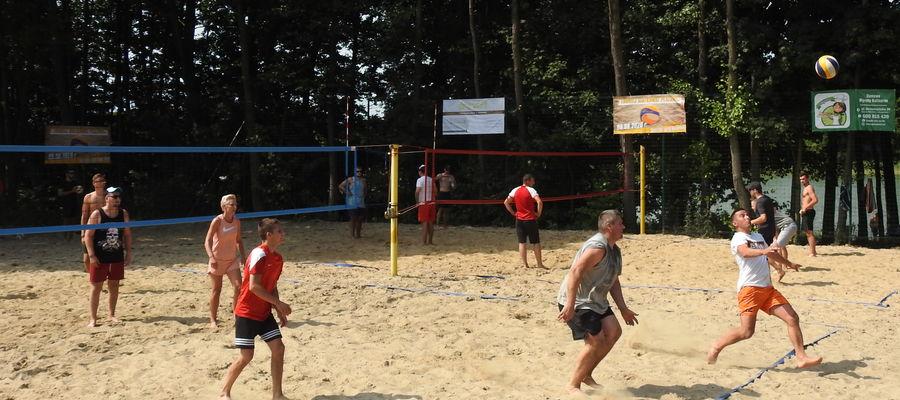 Zawodnicy zagrali na dwóch boiskach jednocześnie