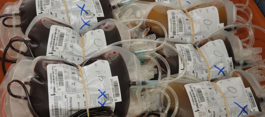 W sobotę krwiodawcy będą mogli oddać cenny lek
