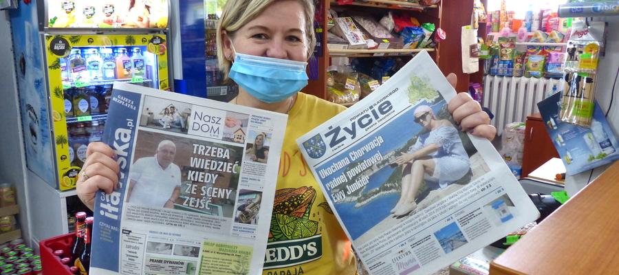 Obie gazety dostępne są także w tradycyjnej formie, czyli na papierze. Jesteśmy w wielu punktach, m.in. w sklepie spożywczym SAB przy ul. 1 Maja w Iławie