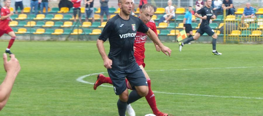 Biegowy pojedynek Łukasza Kuśnierza (Znicz) z Mateuszem Jajkowskim (GKS)