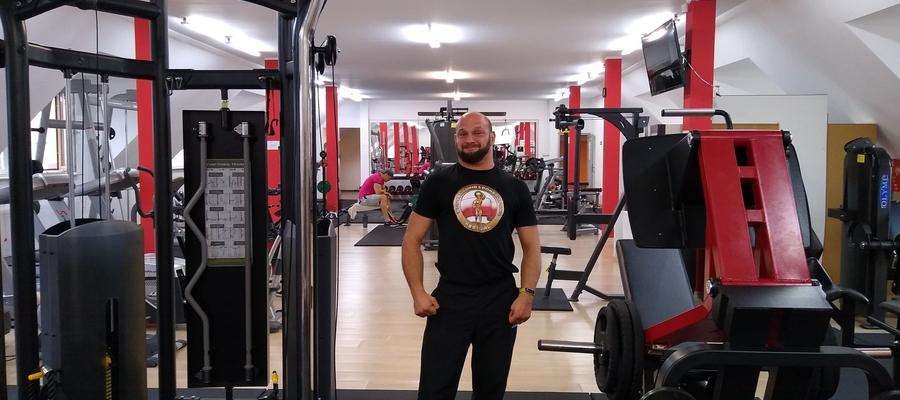 Ta siłownia to dowód, że ma smykałkę nie tylko do sportu, ale i do biznesu