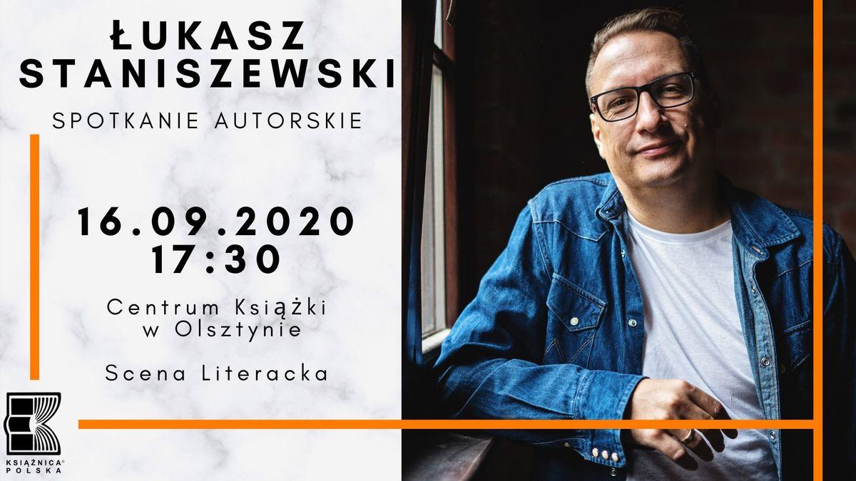 Łukasz Staniszewski, autor Małych Gróz, spotka się z czytelnikami - full image