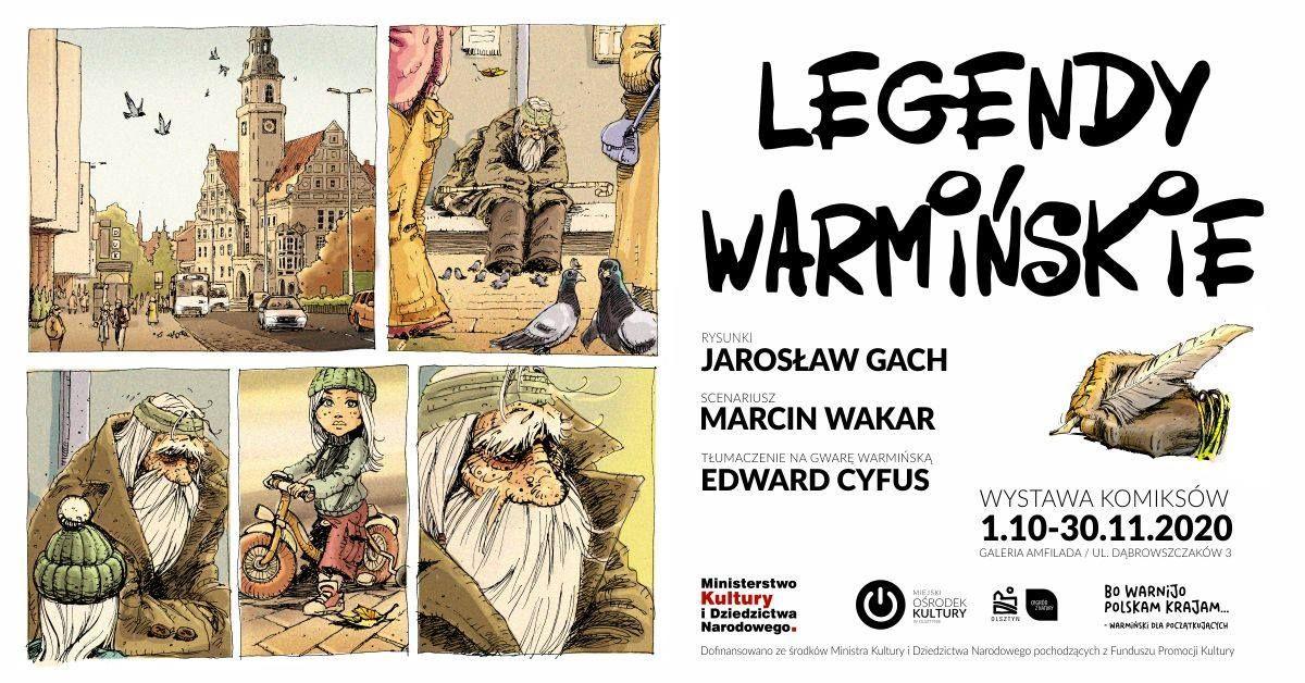 LEGENDY WARMIŃSKIE – Wernisaż wystawy komiksów autorstwa Jarosława Gacha - full image
